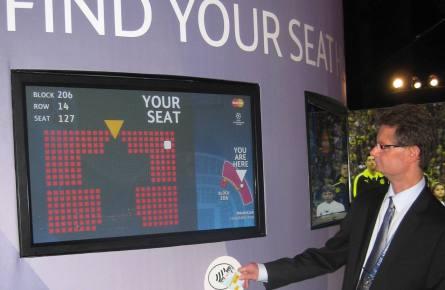 RFID Seat Finder
