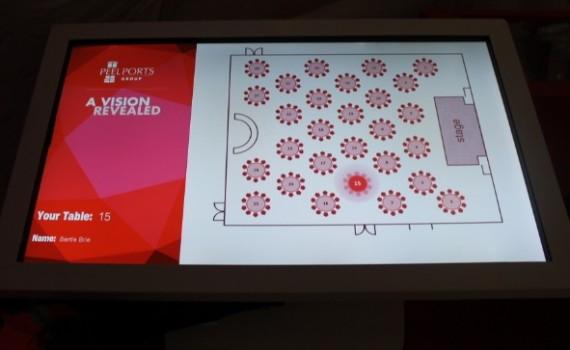 RFID TouchScreen ETableFinder